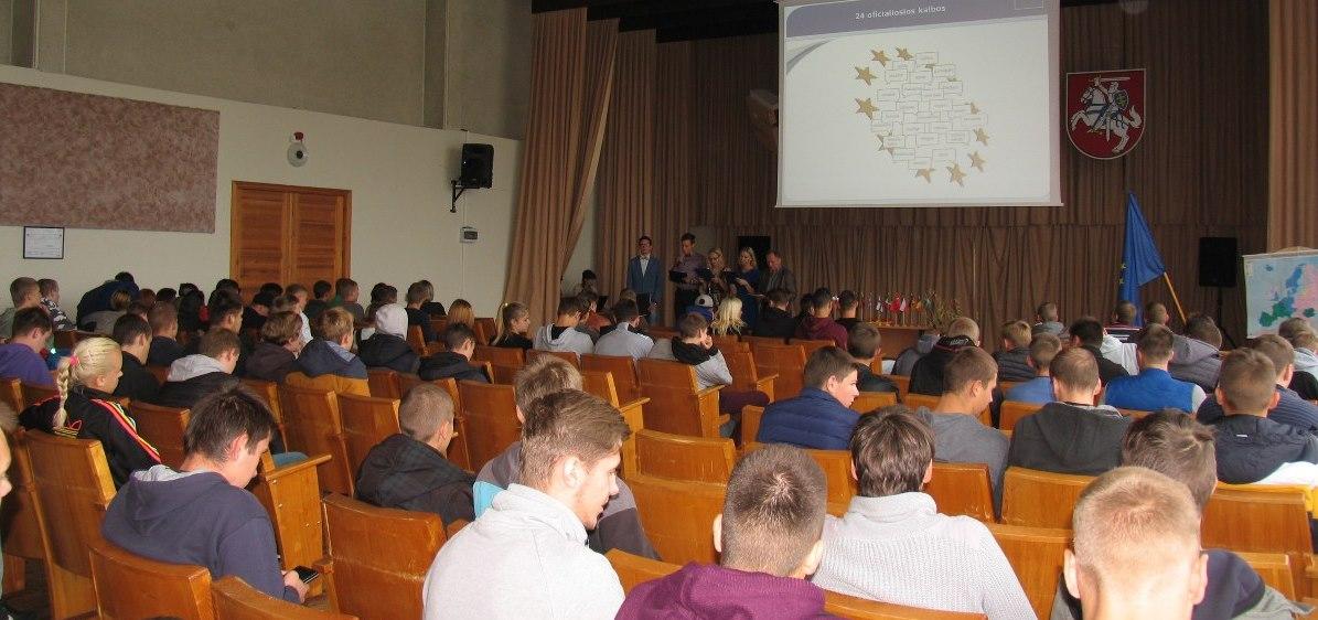 2016-09-26  Europos kalbų diena Fabijoniškių skyriuje