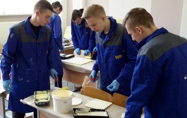 2017-02-21 Mokiniai iš Vilniaus Vladislavo Sirokomlės vidurinės mokyklos.