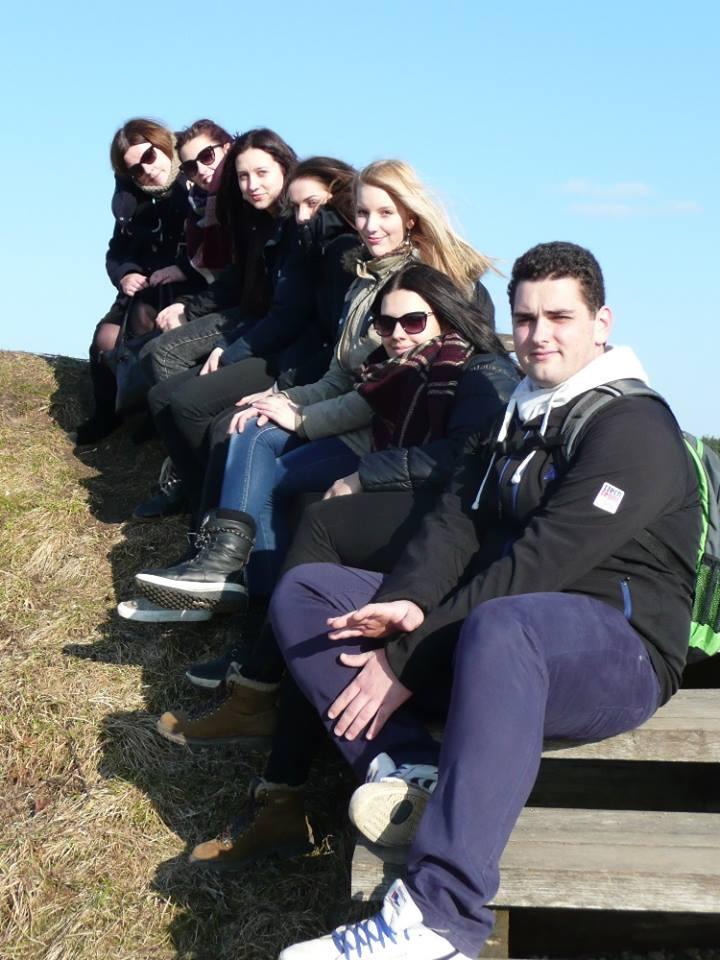 2017-03-15 Stažuojasi mokiniai iš Čekijos.