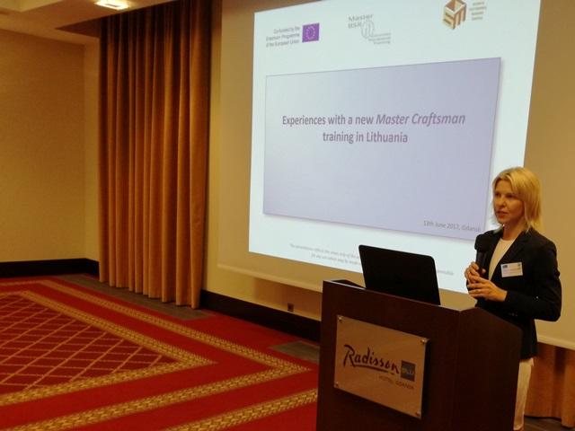 """2017-06-15 Projektas """"Gamybos meistro profesinio mokymo programa Baltijos jūros regionui"""""""