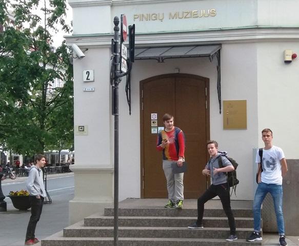 2017-05-30 Edukacinė išvyka į Pinigų muziejų