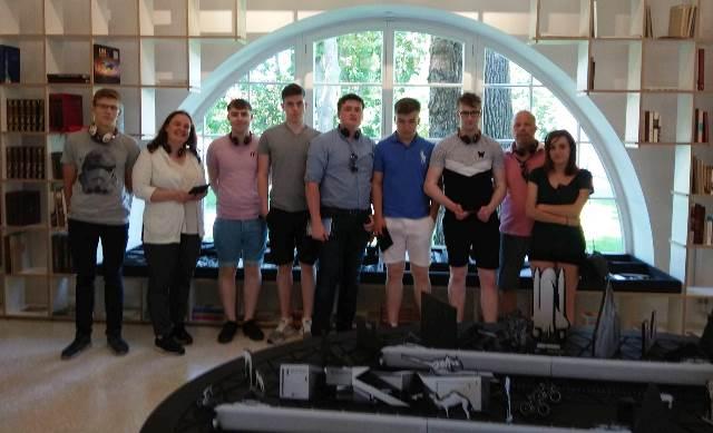 2018-06-04 Mokiniai atvyko iš Jungtinės Karalystės