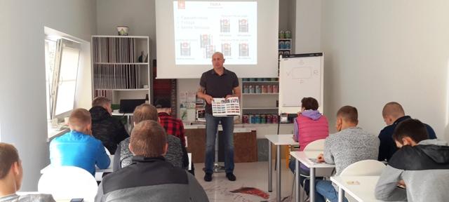 2018-09-18 Seminaras TIKKURILA mokymų centre