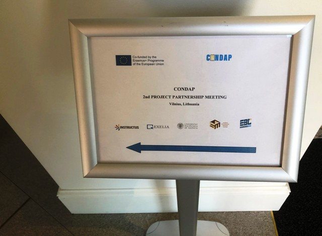 2019-05-23 Antrasis CONDAP projekto partnerių susitikimas