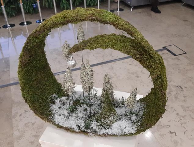 2019-12-19 Seime – mūsų floristų darbų paroda.