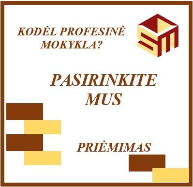 2020-05-22 Priėmimas į profesinio mokymo įstaigas vyksta internetu